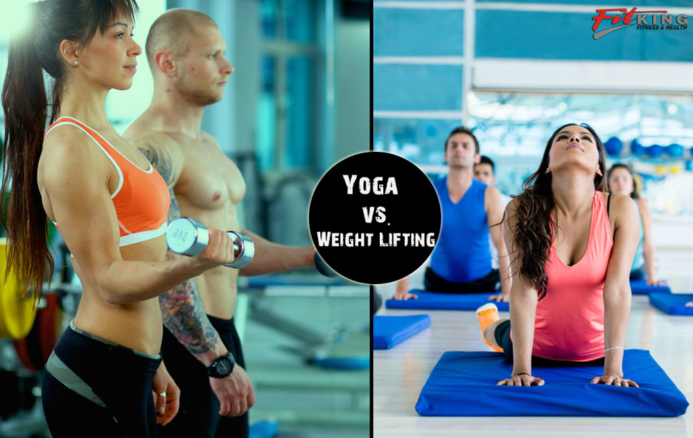 Yoga vs. Weight Lifting: What