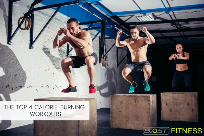 THE TOP 4 CALORIE-BURNING WORKOUTS