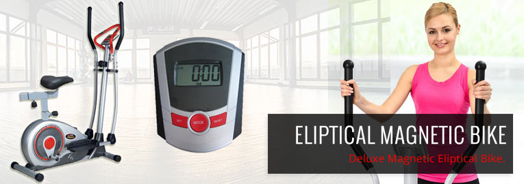 Eliptical Magnetic Bike