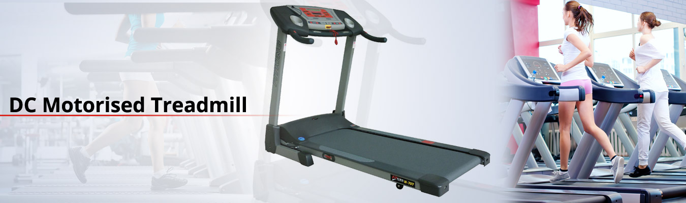 dc motorised treadmills brand india