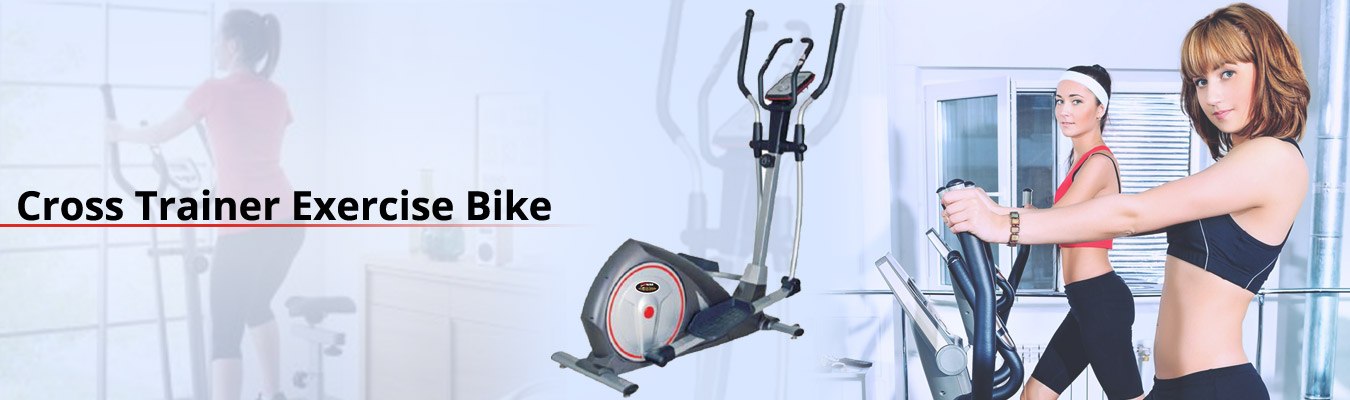 cross trainers exercise bike  brand india