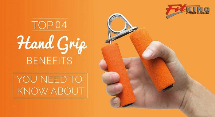 4 Benefits of Using Hand Grips