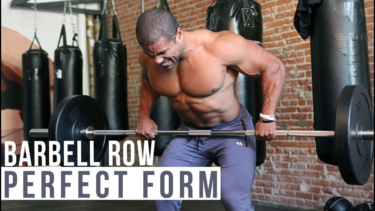 Barbell Row Guide: How to Master the Barbell Row