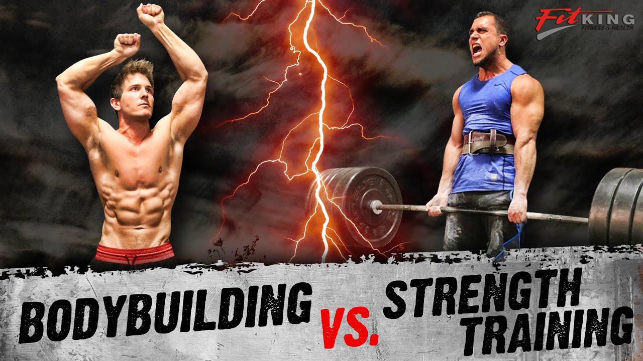 Body Building vs Strength Training