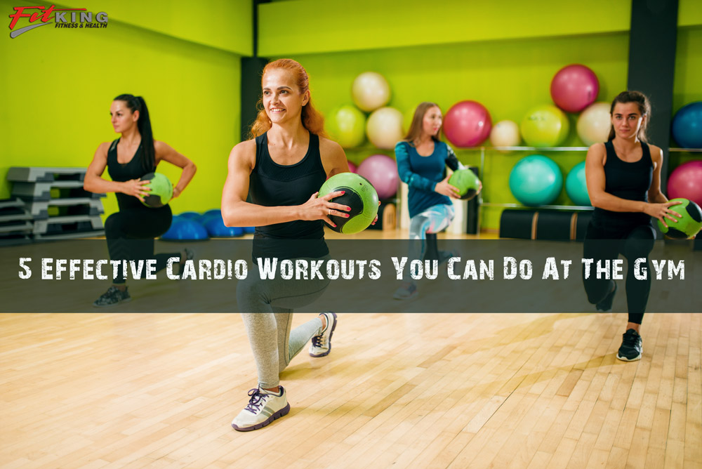 5 Effective Cardio Workouts You Can Do At The Gym