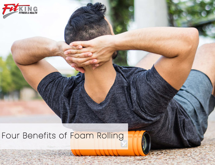 Four Benefits of Foam Rolling